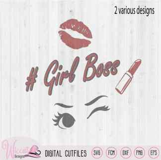 Girl boss and ladyboss svg, stoere meiden