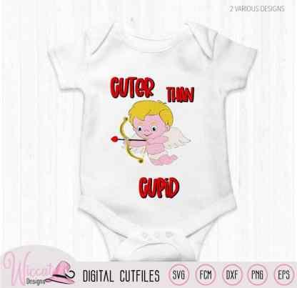 Cuter than cupid baby cartoon
