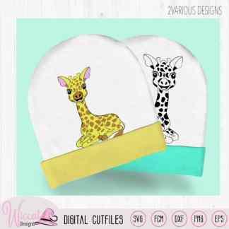 Kleine liggende giraf