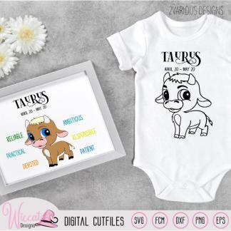 Baby boy Taurus, Zodiac sign newborn