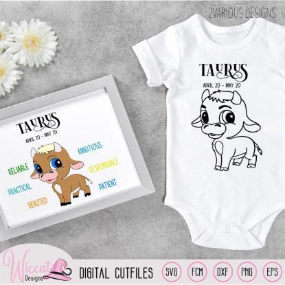 Baby boy Taurus, Zodiac sign newborn