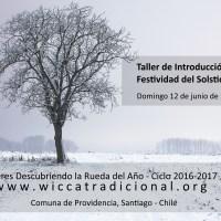 TALLER: Introducción al Solsticio de Invierno