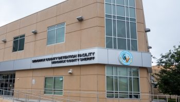 At the Sedgwick County jail, COVID cases were on the rise in August. (Alex Unruh/The Beacon))