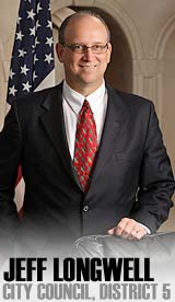 Jeff Longwell, now Wichita mayor