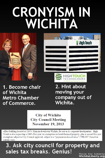 Cronyism in Wichita - High Touch