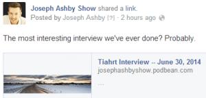 Joseph Ashby Show 2014-06-30