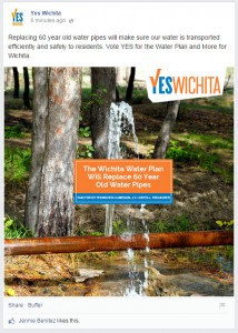 """""""Yes Wichita"""" Facebook post. Click for larger version."""