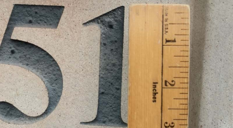 In Wichita, your house numbers may become illegal