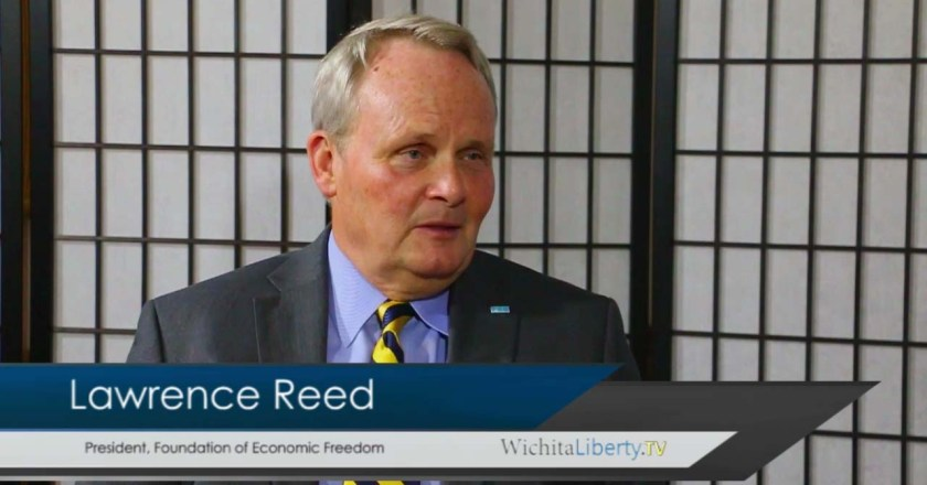 WichitaLiberty.TV: Lawrence Reed of Foundation for Economic Education