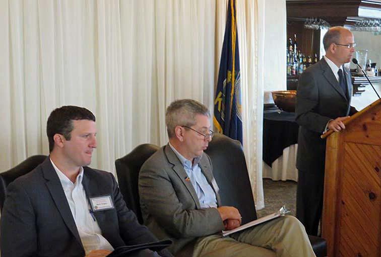 Mark Dugan, Clay Barker, and Mark Kahrs