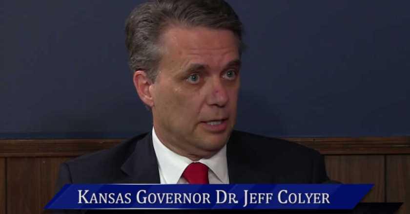 WichitaLiberty.TV: Kansas Governor Dr. Jeff Colyer