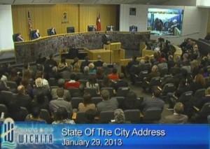 Wichita Mayor Carl Brewer, State of the City Address, January 29, 2013