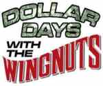 Dollar Days on Mondays with the Wichita Wingnuts