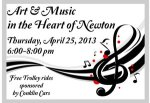 Art and Music in the Heart of Newton