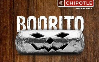 photograph regarding Chipotle Printable Coupon referred to as $4 Booritos at Chipotle upon Halloween