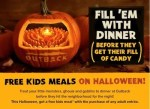 Kids Eat FREE at Outback Steakhouse on Halloween