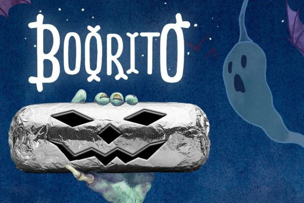 Chipotle Boo-rito Halloween Freebie in Wichita