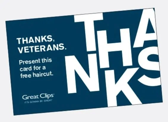 picture about Sports Clips Free Haircut Printable Coupon named Superior Clips: Totally free haircut for hectic navy and veterans