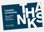 Free haircuts for veterans on Veterans Day at Great Clips