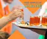 FREE samples at the food and nutrition fair We All Eat