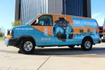 Barry's Mobile Recreation Station from Wichita Park and Recreation - starring Barry the Bison!