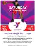 FREE Teen late night program at the South YMCA