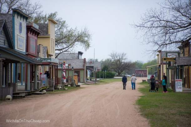 Old Cowtown Museum street