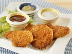 kid-friendly cracker crumb pork cutlets