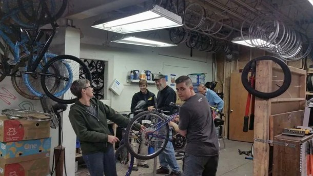 ReCycle Bike Repair volunteer opportunity with Bike Walk Wichita