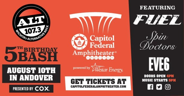 Summer concert: ALT 107.3 Birthday Bash at CapFed Amphitheater