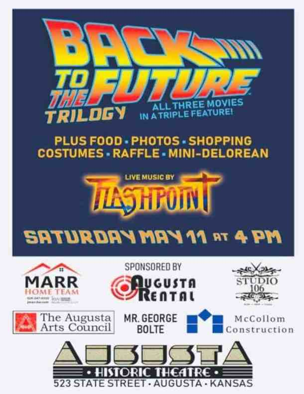 Back to the Future trilogy Augusta Historic Theater