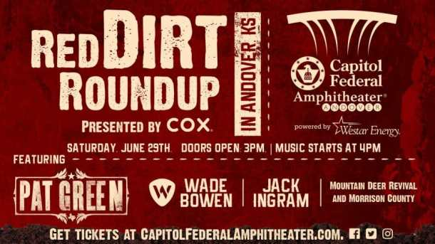 Summer music festival: Red Dirt Roundup at the Capitol Federal Amphitheater