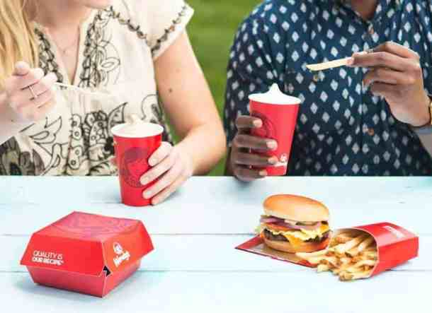Free Frosty at Wendy's with purchase
