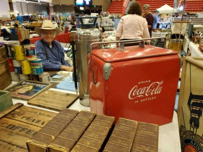 antique coca cola cooler wichita flea market ks star arena mulvane (1)