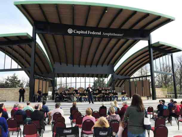 Capitol Federal Amphitheater in Andover, Kansas