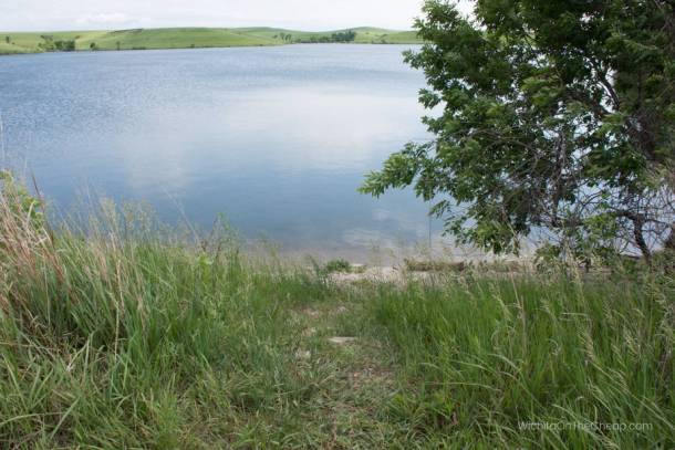 Chase State Fishing Lake in Chase County, KS and in the scenic Flint Hills