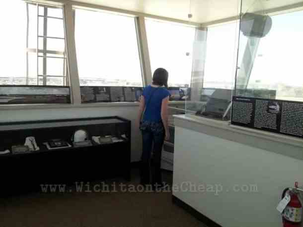 Control tower at the old Wichita airport, now Kansas Aviation Museum