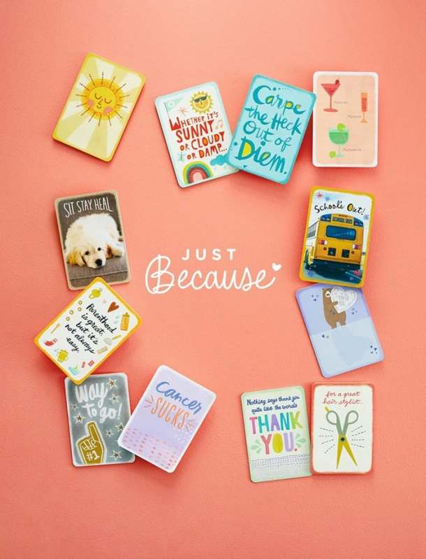 Free Hallmark cards every Friday Just Because