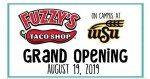 Fuzzy's Taco Shop grand opening on WSU campus in Wichita