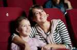 Summer movies with kids at the movie theater