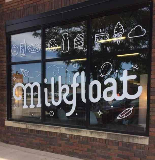 Milkfloat dessert and coffee shop in Delano