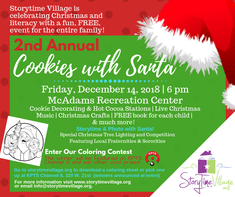 Free 2nd Annual Cookies With Santa Event