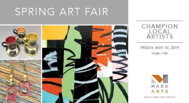 Spring Art Fair - Mark Arts 2019