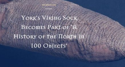 Viking era sock