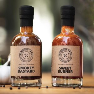 WICKADILLY SAUCES - SAUCEN BUNDLE - SWEET BURNER - SMOKEY BASTARD - Grill Soßen - BBQ Sauces