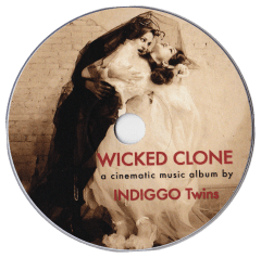 Cover Wicked Clone Music Album