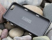 The UAG Trooper uses a dual-layer system featuring a softer inner core with the harder exterior shell.