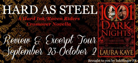 Hard as Steel - Review & Excerpt Tour - banner