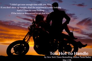 A silhouette of a woman laying back on the motorbike with her man looking down at her.