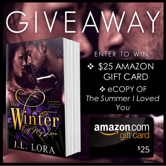 The Winter of My Love Giveaway Graphic